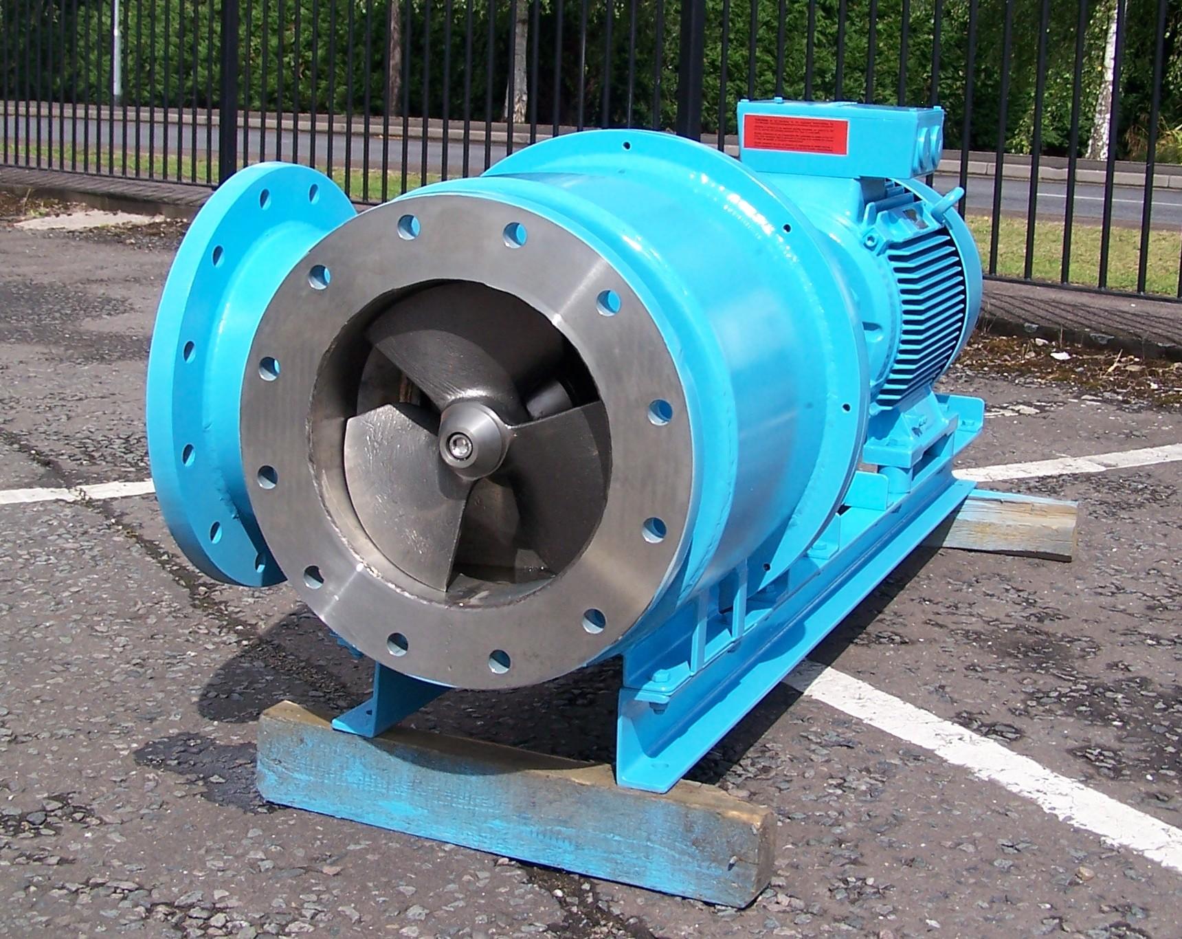 Axial Flow Propeller Pumps : Axial flow pumps quax